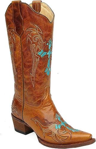 Corral bottes L5104, Bottes et Bottines Cowboy Femme