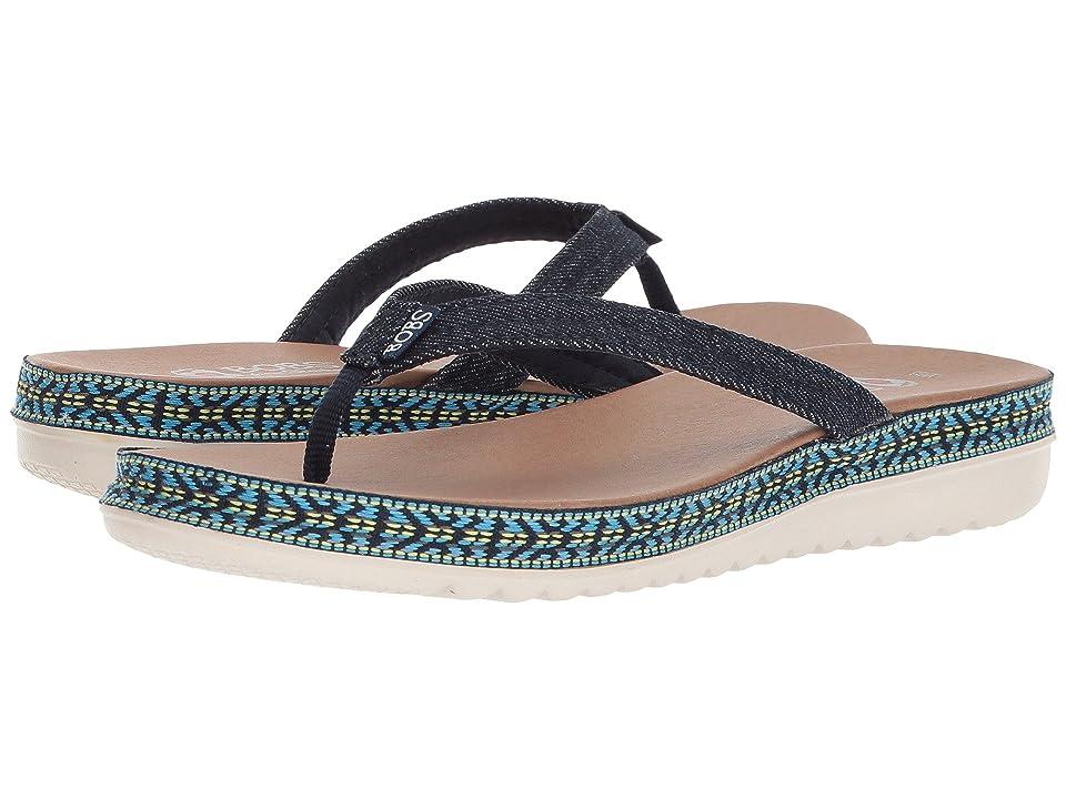 127fc01fb9c BOBS from SKECHERS Sunkiss Star Fish (Denim) Women s Sandals