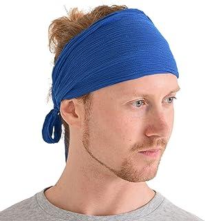 7f267e45e343a CHARM Womens Headband Boho Headwrap - Turban Head Wrap Festival Retro Hair  Accessory Pirate Hairband