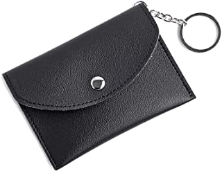 f10fdd6fd8ccd9 Mini Coin Purse KeyChain Wallet Credit Card Holder Zipper Card Case Coin  Change Purse wallet With