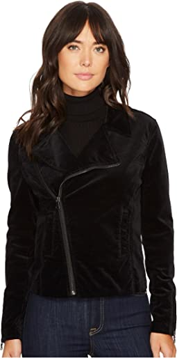 AG Adriano Goldschmied - Quincy Biker Jacket in True Black