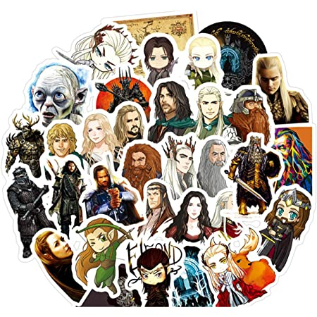 Classic Movie Stickers Pack 50Pcs for Laptop Luggage Phone Computer Wall Decor