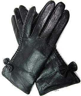 Ladies Premium Super Soft Real Leather Gloves