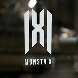 "New""MONSTA X"" Logo 6"" Tall Premium Decal Vinyl Select color from the option menu."