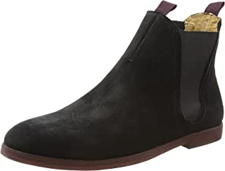 H by Hudson Men's Tamper Boots, Black