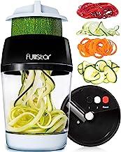 Vegetable Spiralizer Vegetable Slicer - 3 in 1 Zucchini Spaghetti Maker Zoodle Maker - Veggie Spiralizer Adjustable Handhe...