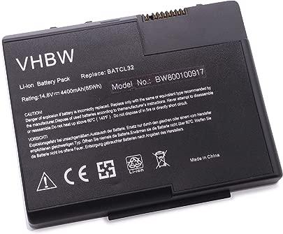 vhbw Akku passend f r Acer Aspire 2013 2014 2016 2020 2021 2022 2023 2024 2025 Laptop Notebook Li-Ion 4400mAh 14 8V 65 12Wh schwarz Schätzpreis : 39,81 €