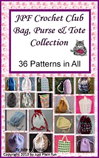 JPF Crochet Club Bag, Purse and Tote Collection