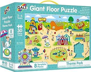 Galt- Theme Park Toys Puzzle géant : Parc d'attraction, 1005095, Multicolore
