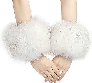 Best blue fur cuffs Reviews