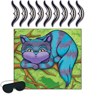 Beistle Pin The Smile On The Cheshire Cat Game - 1 Pc