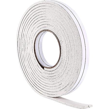 Window Draft Excluder Tape D Type Self-Adhesive Door Draught Excluder Strip 10M