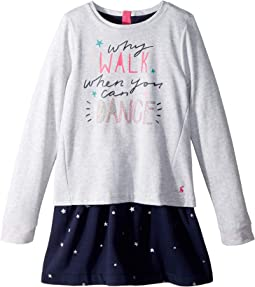 Layered Sweater Dress (Toddler/Little Kids/Big Kids)