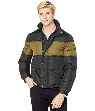 BELSTAFF Dome Puffer Jacket (Black/Sage Green) Men