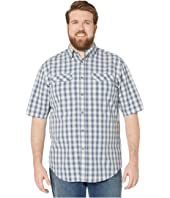 Big & Tall Pentwater Vented Back Short Sleeve Shirt