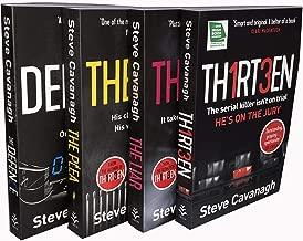 Steve Cavanagh The Eddie Flynn Series 4 Books Collection Set ( TH1RT3EN, The Liar, The Plea, The Defence)