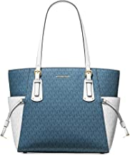 Best michael kors blue and white purse Reviews