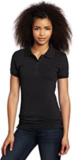 Uniforms Juniors Stretch Pique Polo, Old Black, XX-Large