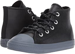 Converse Kids - Chuck Taylor All Star Leather + Thermal - Hi (Infant/Toddler)