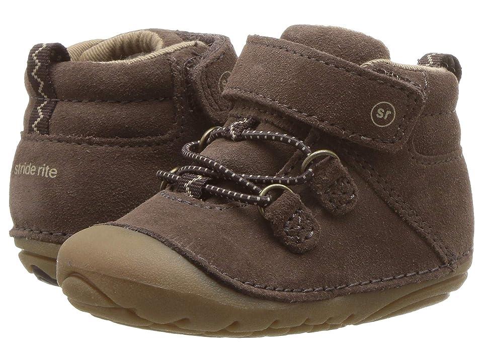 Stride Rite SM Blake (Infant/Toddler) (Dark Brown) Boys Shoes