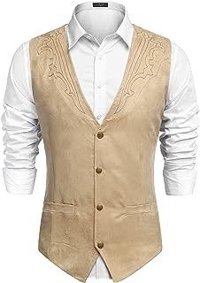 Best cowboy vest jacket Reviews