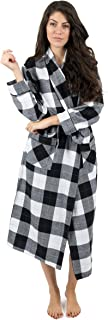 Womens Flannel Robe Christmas Robe (Size X-Small-XX-Large)