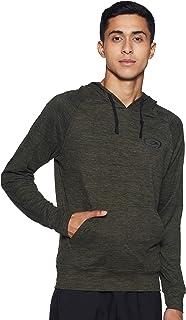 Max Melange Texture Hooded Sweatshirt