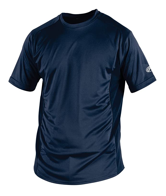 Rawlings Men's Short Sleeve Baselayer Shirt