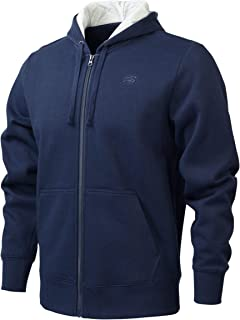 New Balance Men Pink Ribbon Volume Fleece Full Zip Hood Jacket Sportstyle