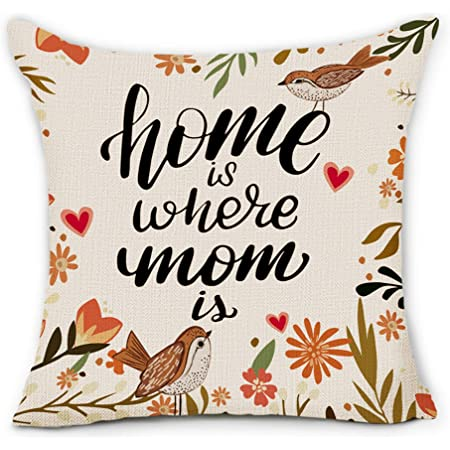 24x24 Inch Living room decor Natural wool cushion Housewares Gift for Mum Floor throw pillow Simple plain cushion Mohters days Gifts