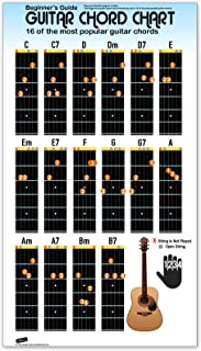 Best complete guitar chord poster Reviews