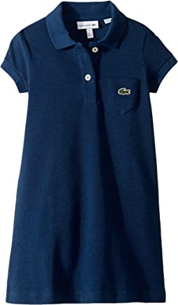 Classic Pique Dress with Pocket (Toddler/Little Kids/Big Kids)