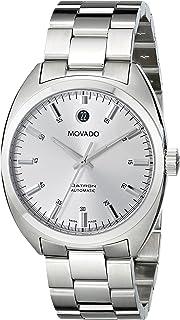 Movado - 0606360 - Reloj de pulsera hombre, acero inoxidable, color plateado
