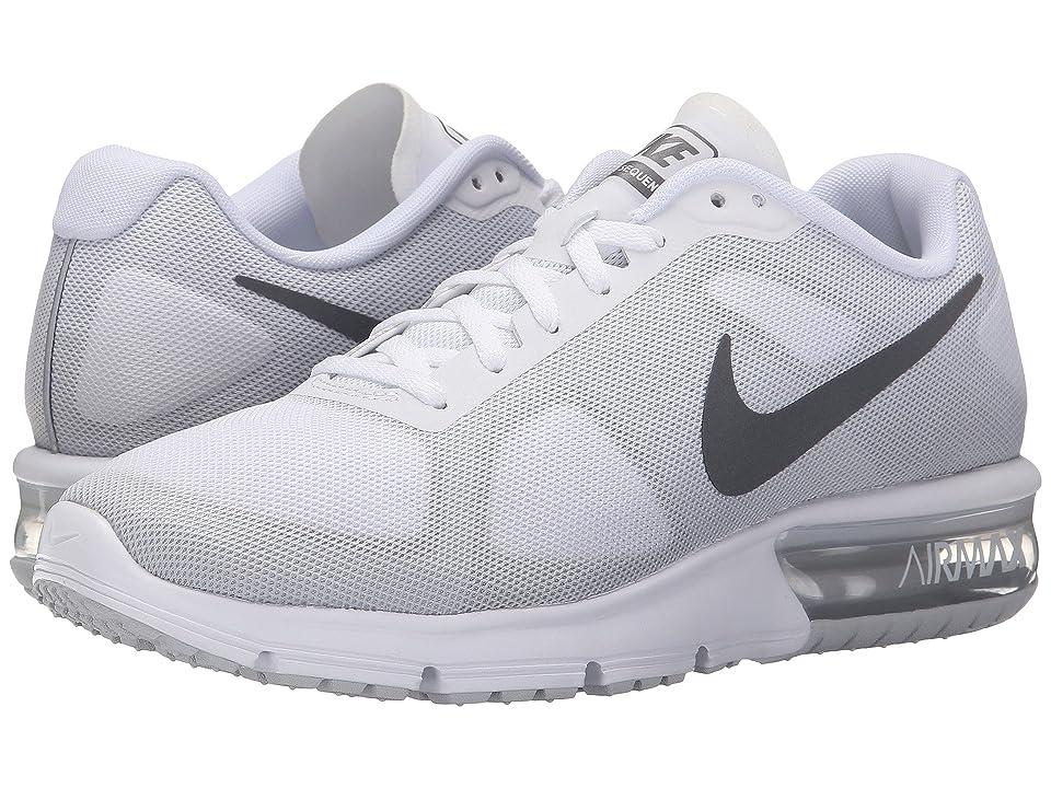 Nike Air Max Sequent (White/Cool Grey/Pure Platinum/Metallic Dark Grey) Women