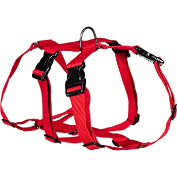 Petslike Double H Harness Red ( Size Large), Red, Large, 250 g