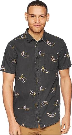 Split Short Sleeve Shirt