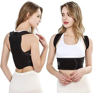 Corrector de postura de espalda con soporte lumbar, espalda