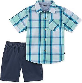 Nautica Sets (KHQ) Boys' Toddler 2 Pieces Shirt Shorts Set