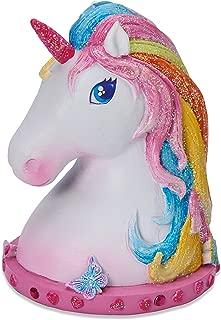 Wobbly Jelly - Magical Unicorn Money Box for Children - Glittery Hand Painted Kids Unicorn Piggy Bank