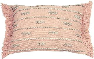 furn. Sigrid Polyester Filled Cushion, Blush, 35 x 50cm