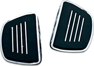 Kuryakyn 4393 Motorcycle Foot Control Component: Premium Mini Board Floorboards without Adapters, Chrome, 1 Pair