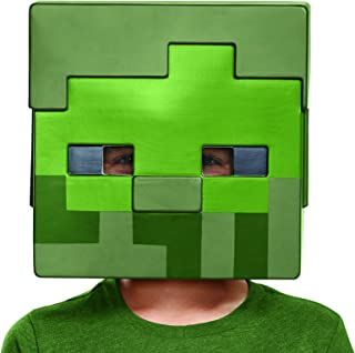 Minecraft Zombie Costume Mask, One Size Child