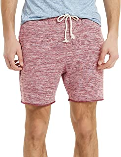 Athletic Running Shorts Men Knit Terry Gym Shorts for Men with Pockets