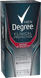 Degree Men Clinical Antiperspirant Deodorant, Sport Strength 1.7 oz, (Pack of 4)