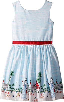 fiveloaves twofish Just Shellin Party Dress (Toddler/Little Kids/Big Kids)