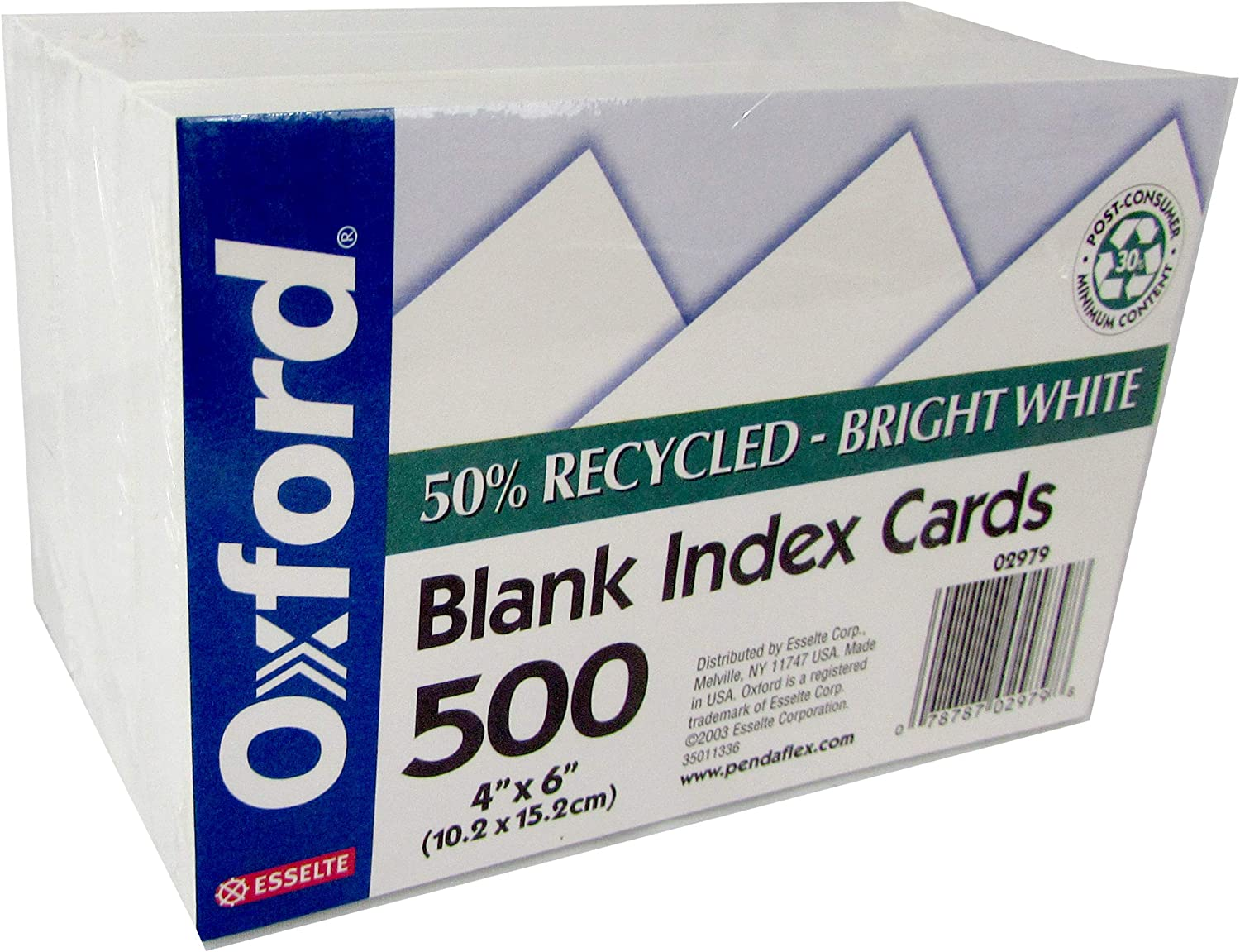 OXFORD Index cards 4