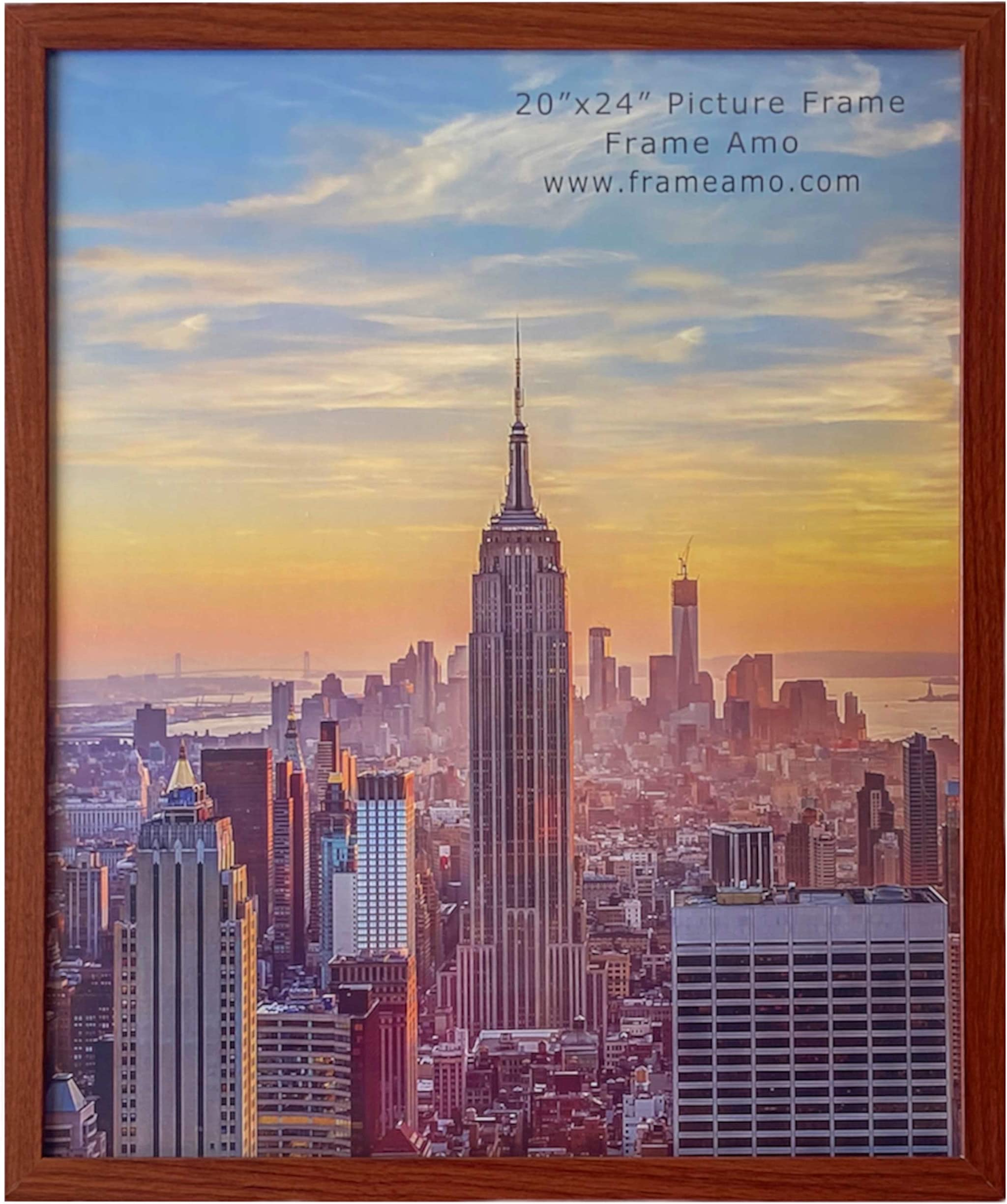 Craig Frames 232479442030 1 Wide Contemporary 20x30 Inch Scratched Silver Picture Frame