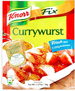 knorr currywurst