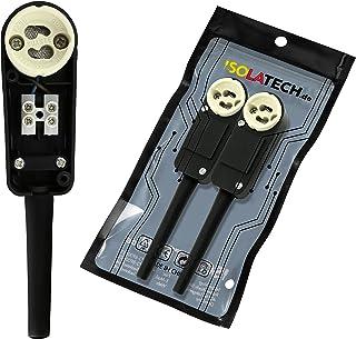 ISOLATECH GU10-armatursockel med anslutningsskåp VDE CE RoHS för installation av halogen- och LED-påsättningsstrålkastare ...