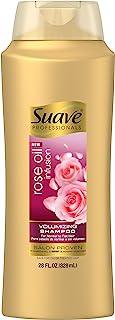 Suave Professionals Rose Oil Infusion Volumizing Shampoo, 28 fl oz (Pack of 2)